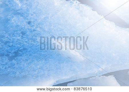 Tender Ice In Sunlight