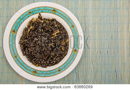 Black Rice Plate