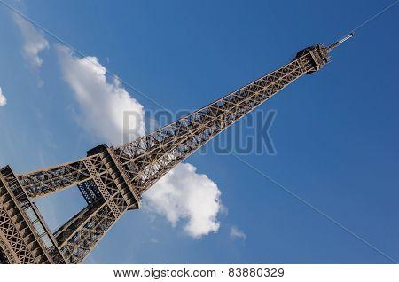 Eiffel Tower Detail Antenna