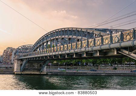 River Seine Modern Bridge