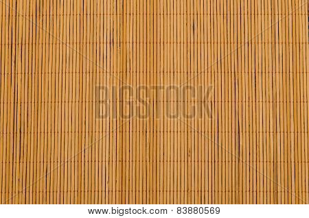 Bamboo Tablecloth Brown