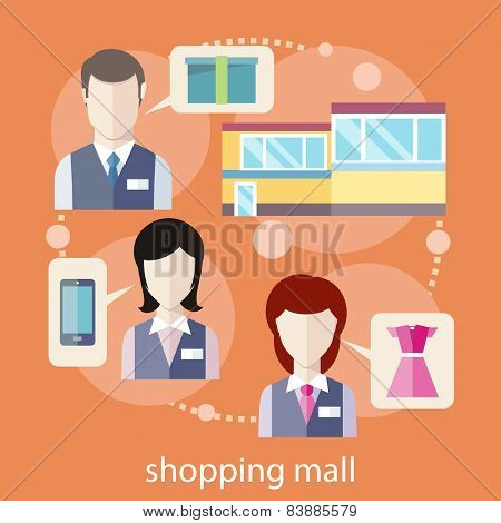 Shopping mall concept
