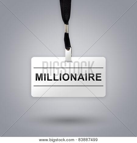 Millionaire On Badge