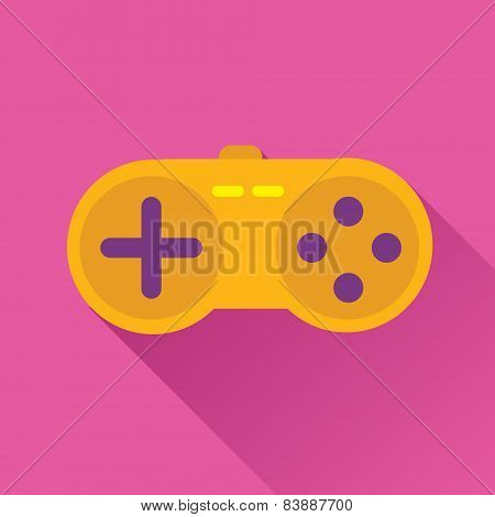 Game Stick Flat Icon