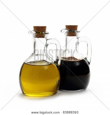 Olive Oil With Italian Balsamic Vinegar Of Modena