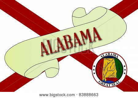 Alabama Scroll