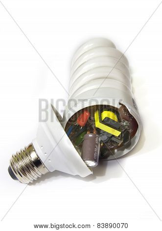 Energy Saving Lamp Inside