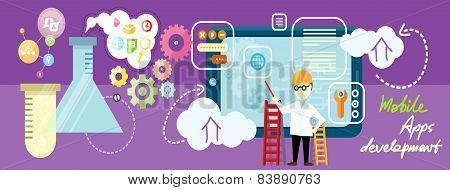Development mobile apps