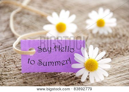 Purple Label say hello to summer