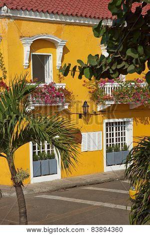 Colourful Buildings of Cartagena de Indias