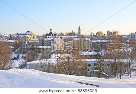 Lappeenranta. Finland. Winter view