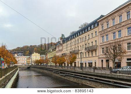 River Tepla, Karlovy Vary