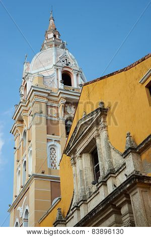 Historic Cathedral in Cartagena