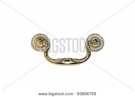 Gold Classic Old Door Knocker