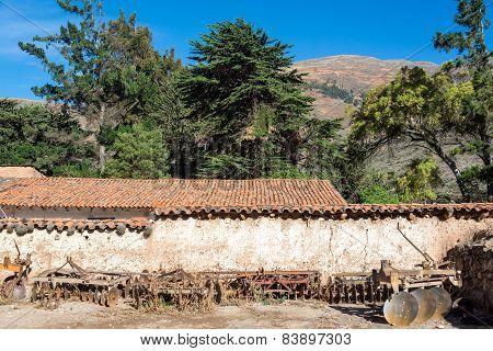 Historic Colonial Hacienda In Peru
