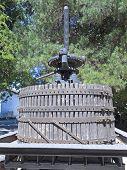 picture of wine-press  - Ancient wine press - JPG