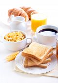stock photo of orange-juice  - Breakfast - JPG