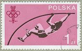 picture of pole-vault  - POLAND  - JPG