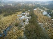 foto of swamps  - Aerial photography - JPG