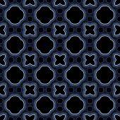 pic of kaleidoscope  - Abstract kaleidoscopic background as infinite seamless pattern - JPG