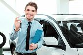 stock photo of car key  - Key from your new car - JPG