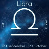 image of libra  - Zodiac sign  - JPG