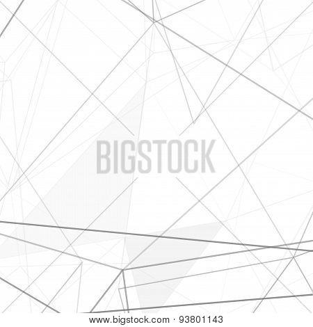 Modern Hi-tech Net Structure Grey Background