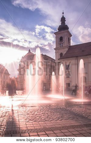 Great Square in Sibiu