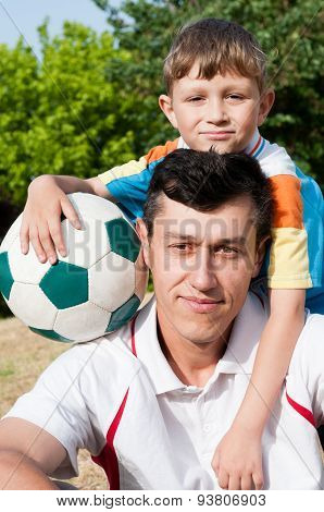 Father, Son And Football
