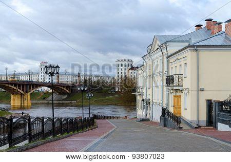 Descent To Waterfront Of Zapadnaya Dvina, Vitebsk, Belarus