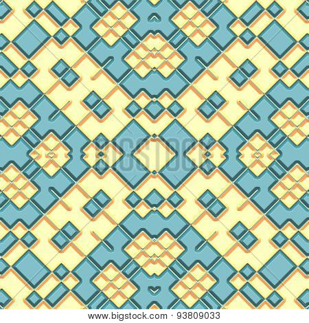 Decoration Tile Generated Seamless Texture