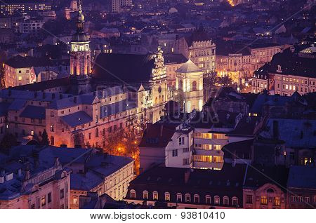 Twilight in Lviv
