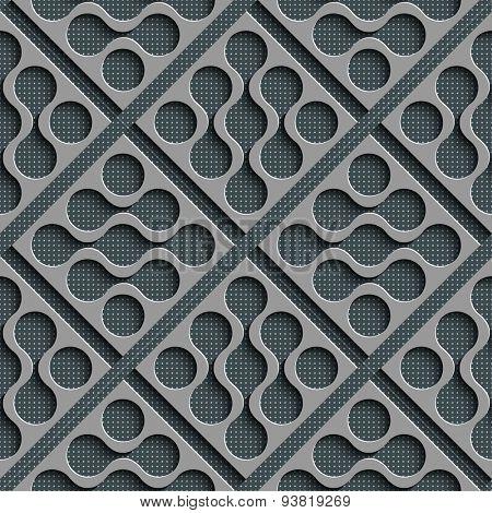 Seamless Grid Background. Vector Regular Texture