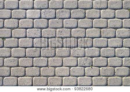 Tiled Pavement.