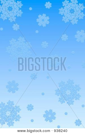 Snowflakes Paper Background