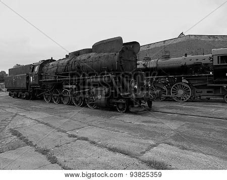The locomotive of the past.