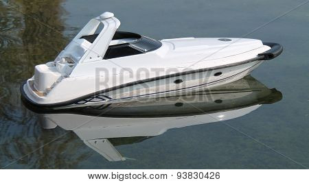 Radio Controlled Speed Boat.