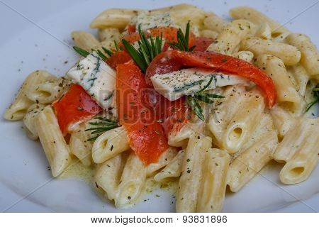 Penne With Salmon