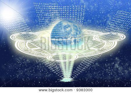 neue Mentalität im freien Weltraum