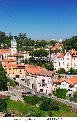Old town of Sintra, Portugal