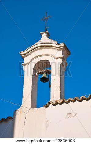 Historical church. Rutigliano. Puglia. Italy.