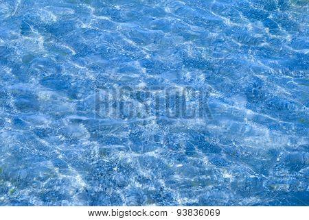 Background Blurred Water