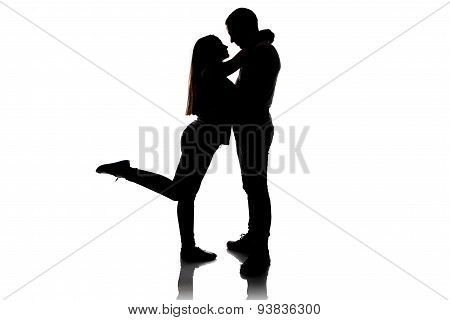 Image of loving boy and girl