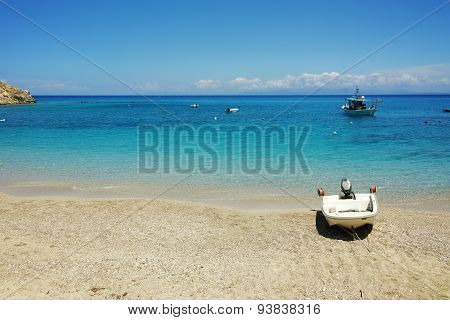 Blue Waters of the Agios Nikitas Beach, Lefkada