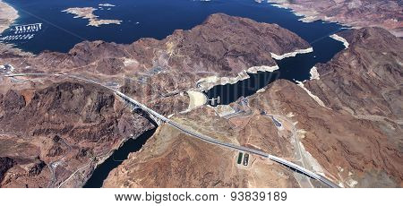 Hoover Dam, Colorado Grand Canyon, Arizona, Usa