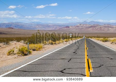 Highway in Nevada