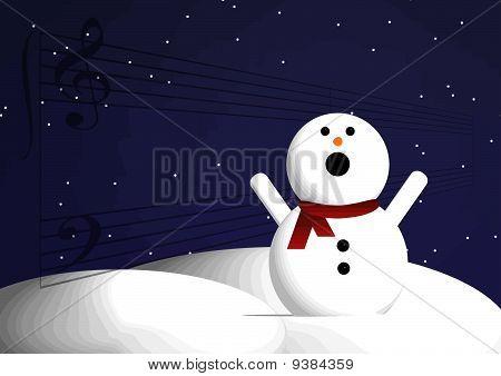 Snowman Singing