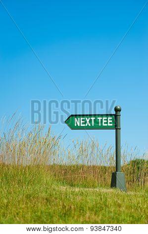 Next Tee Sign