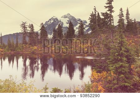 Mount Shuksan,Washington