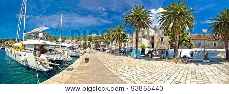 Hvar Yachting Waterfront Panoramic View